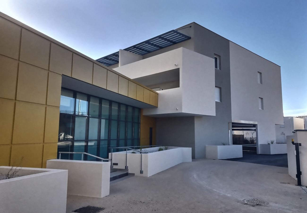 Appartement à Sérignan - Agréable appartement pour 4 personnes + bébé dans une résidence récente . B206