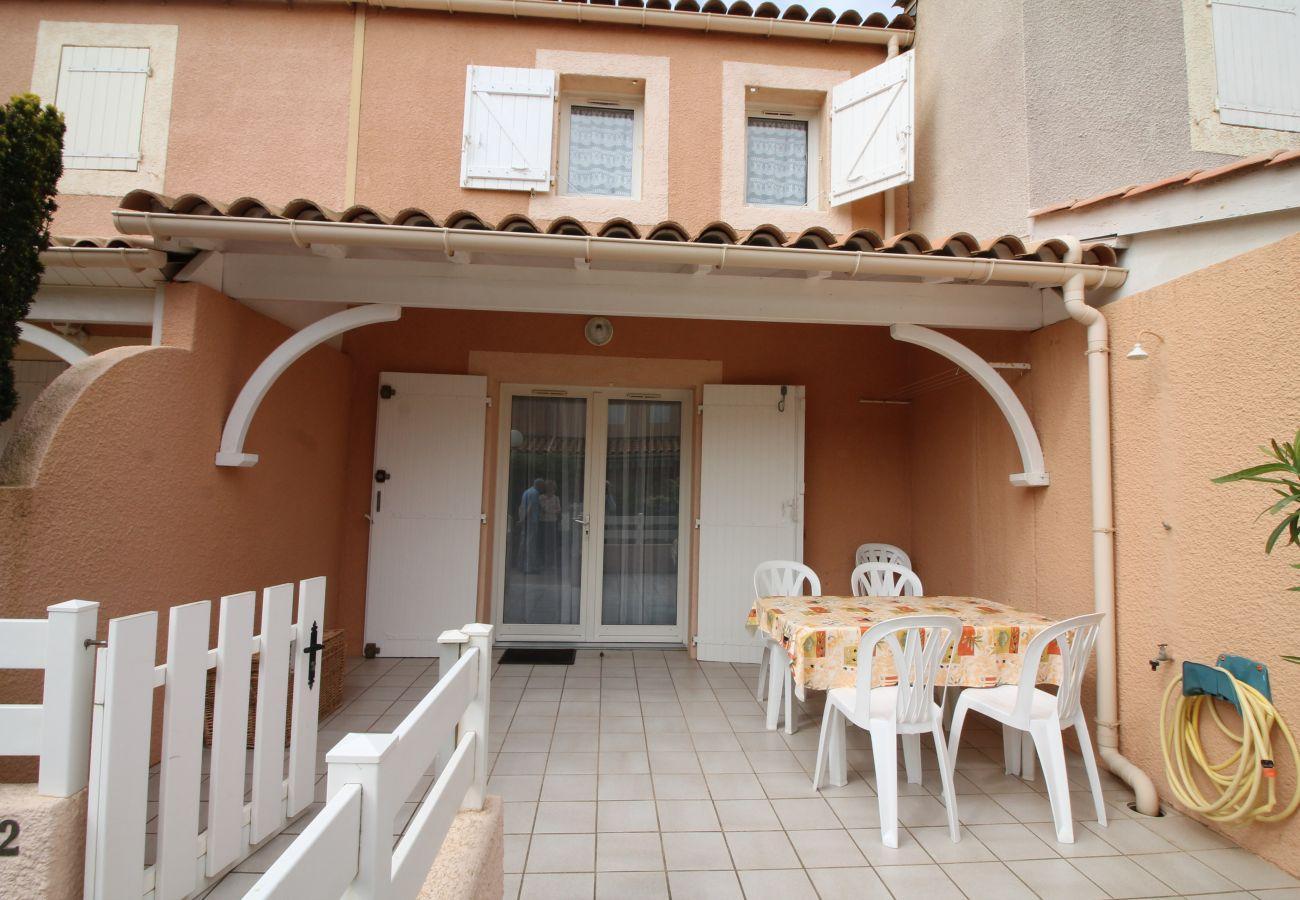 Maison à Valras-Plage - Confortable pavillon en résidence pour 5 personnes.