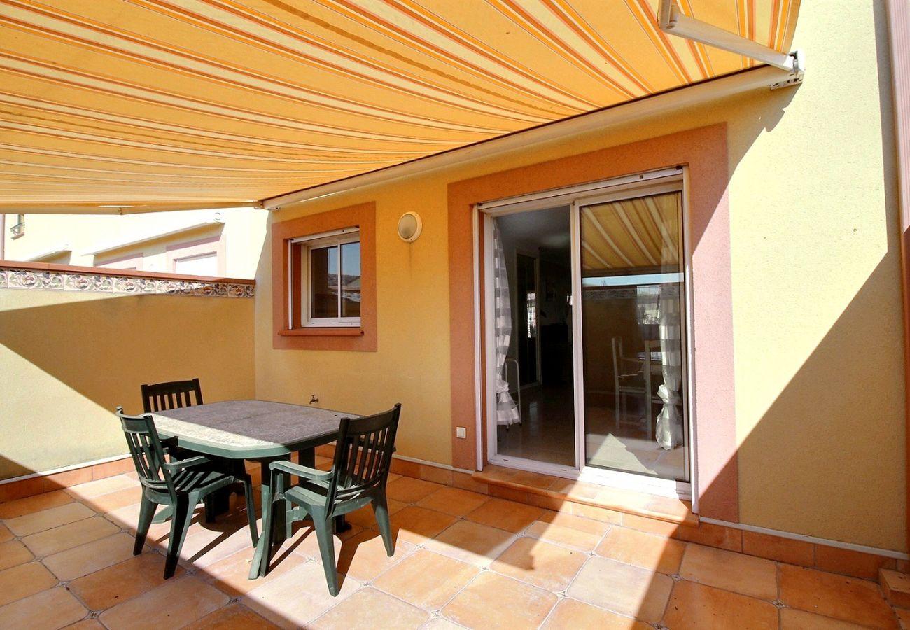 Maison à Valras-Plage - Spacieuse maison pour 8 personnes, proche mer et commerces